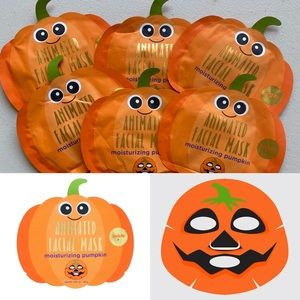 Animated Pumpkin Moisturizing Facial Mask Bundle